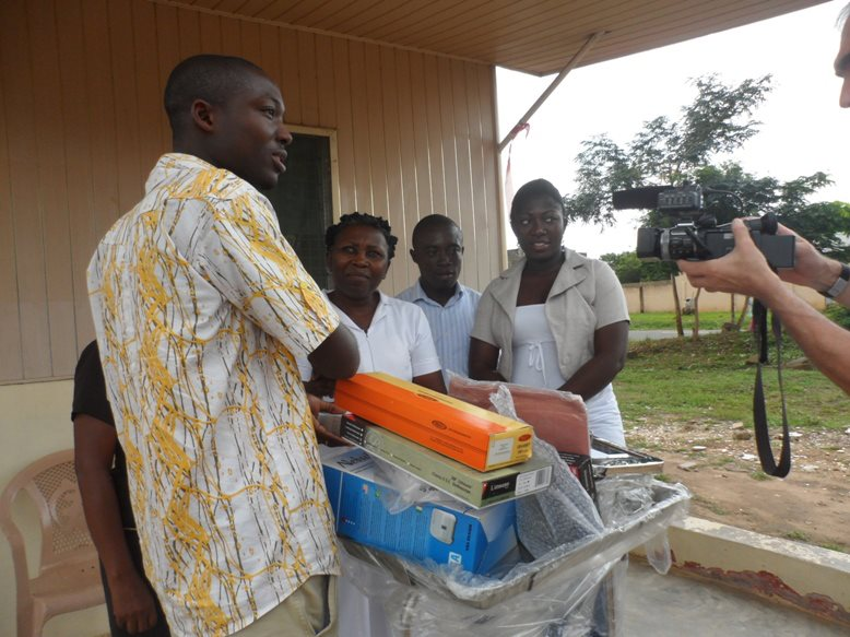 Donation of Equipments to a hospital in Ghana